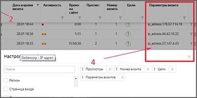 Ip адрес в Яндекс Метрике – как добавить