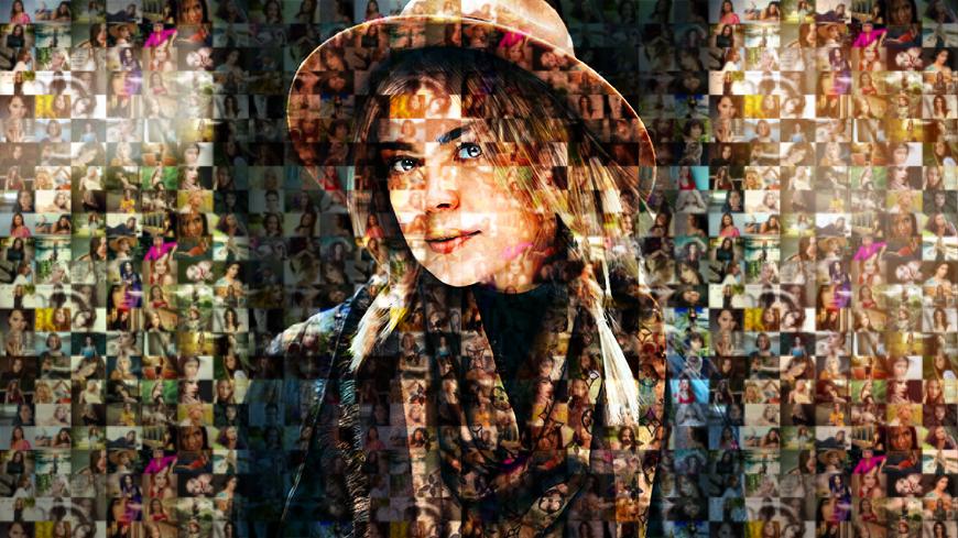 Мозаичный портрет 1