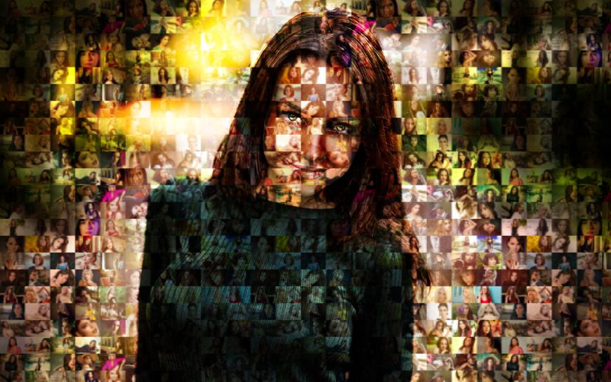 Мозаичный портрет 4