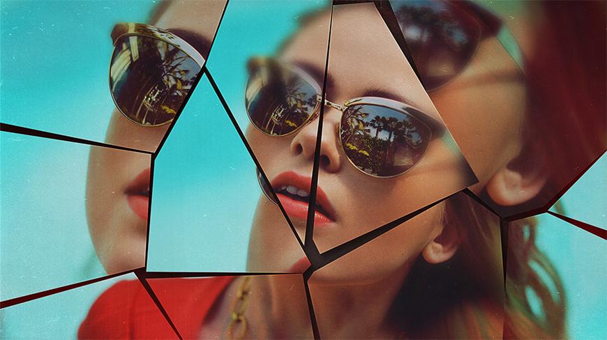 Эффект разбитого стекла в Фотошопе